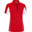 Gonso Serra jersey lange mouwen Dames rood/wit